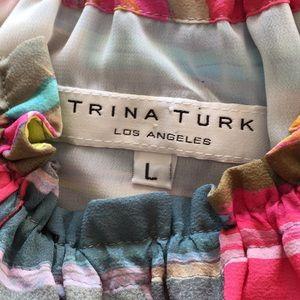 Trina Turk Tops - Halter Gathered Neck Blouse